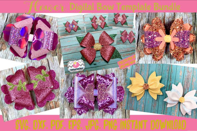 svg-png-dxf-pdf-jpeg-flower-hair-bow-template-bundle