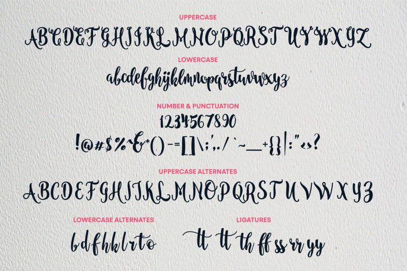 nanda-script-font