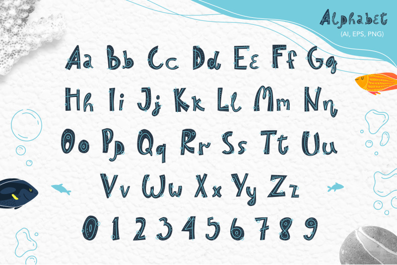 sea-world-vector-clipart-alphabet-patterns-cards