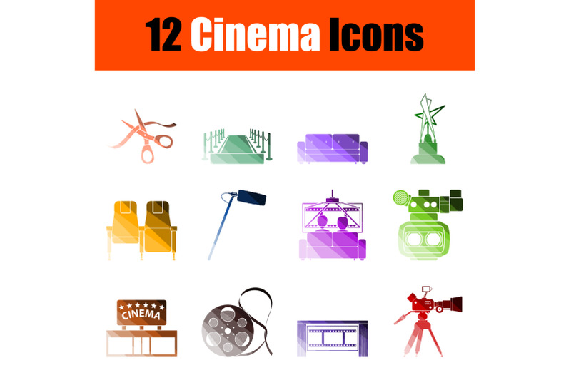 cinema-icon-set