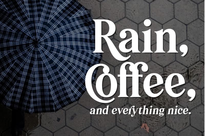 pioggia-modern-serif