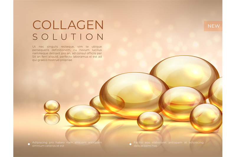 collagen-background-golden-oil-bubble-cosmetic-skin-care-essence-be