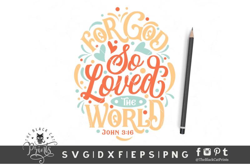 for-god-so-loved-the-world-svg-dxf-eps-png