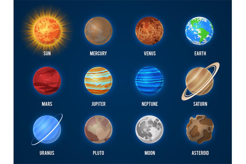 solar-system-cartoon-planets-cosmos-planet-galaxy-space-orbit-sun-moo