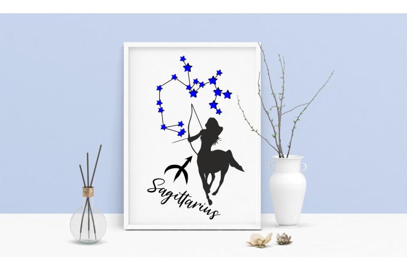 sagittarius-zodiac-poster-beautiful-zodiac-art-prints-sagittarius