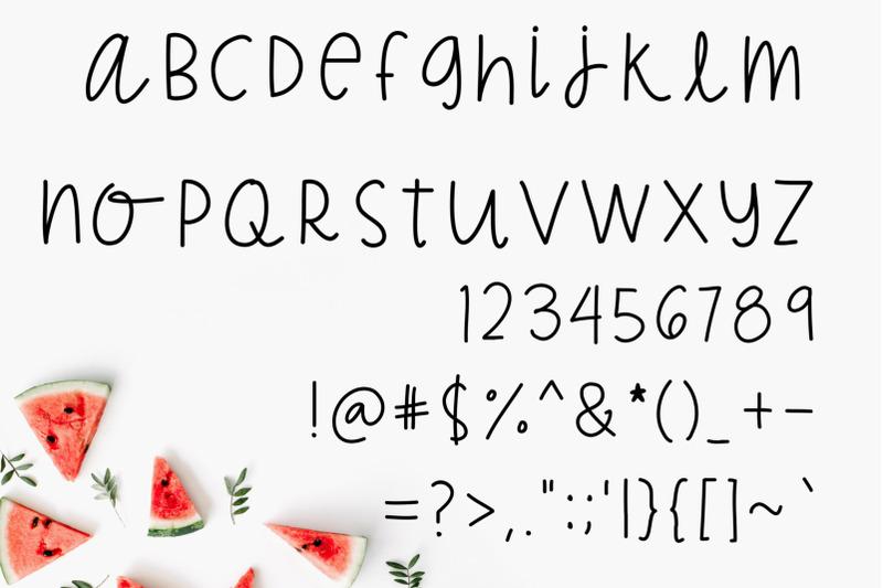 all-the-fun-a-new-handwritten-font