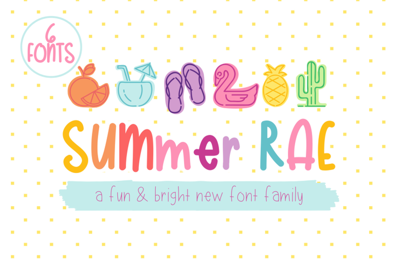summer-rae-font-family-of-6