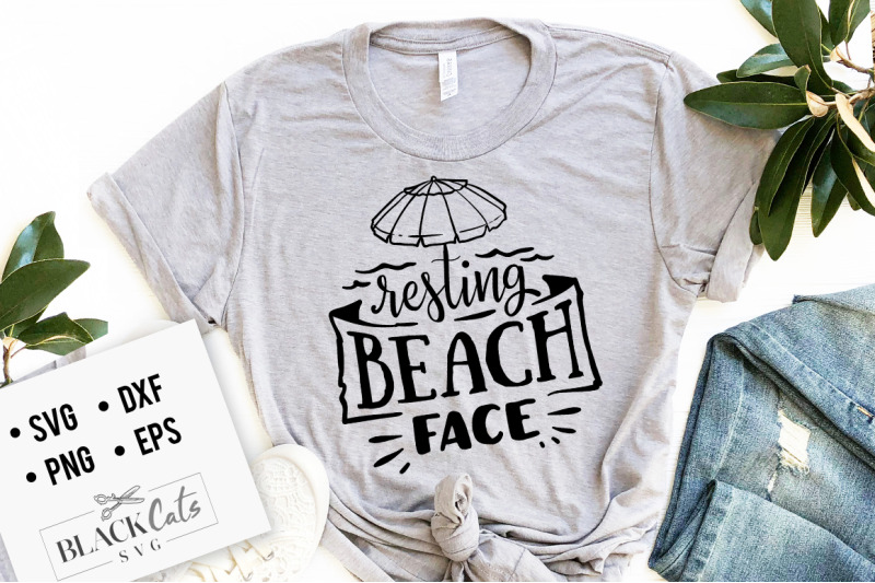 resting-beach-face-svg