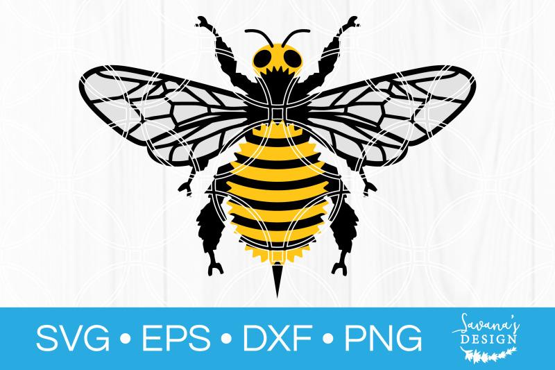 bee-svg-honeybee-bumblebee-honey-bee-bumble-bee-svg-cut-file-dxf-eps