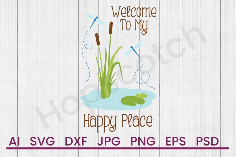 happy-place-svg-file-dxf-file
