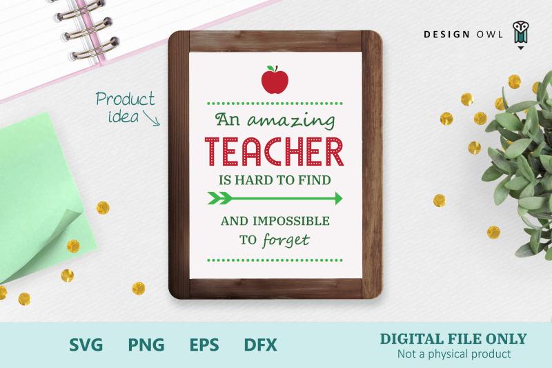 an-amazing-teacher-quote-svg-cut-file