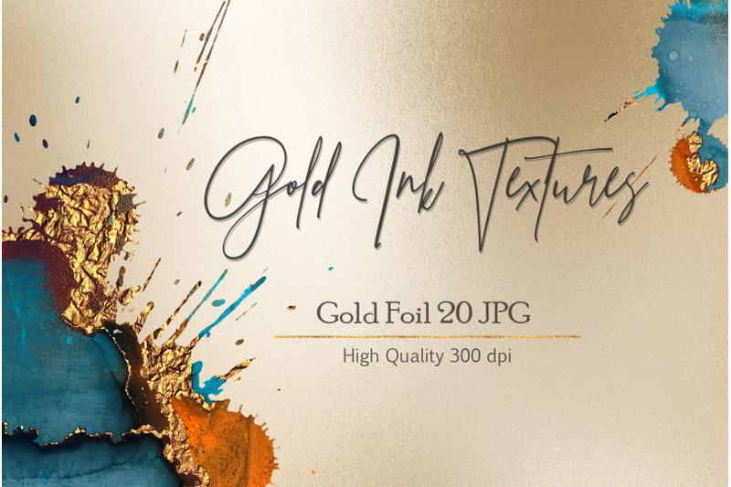 ink-gold-textures