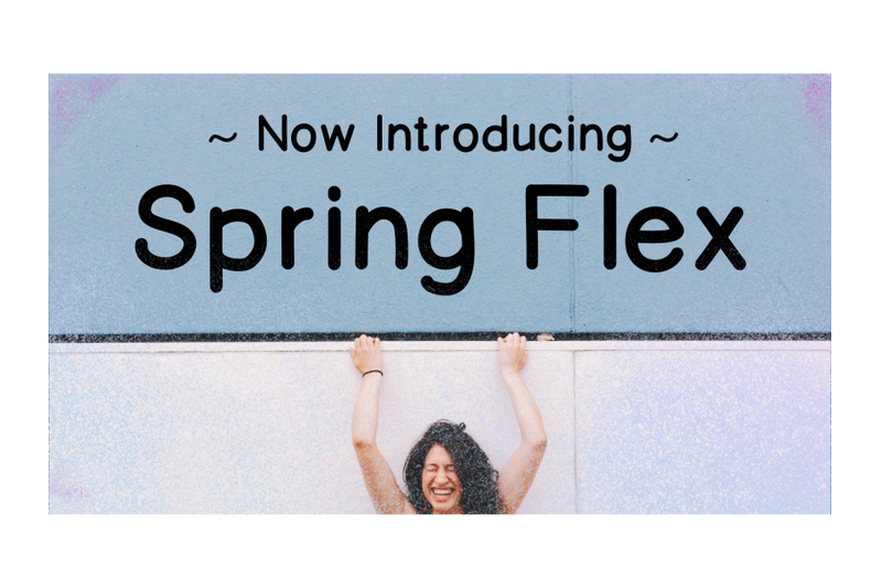 Download Spring Flex (Helvetica) Font Family From JR Fonts and Designs
