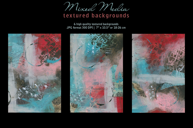 mixed-media-backgrounds-in-red-brown-amp-blue