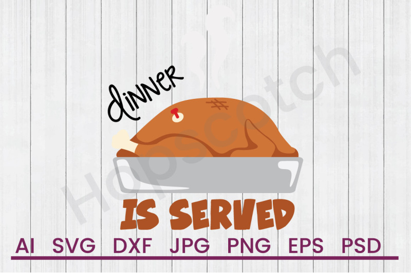 dinner-is-served-svg-file-dxf-file