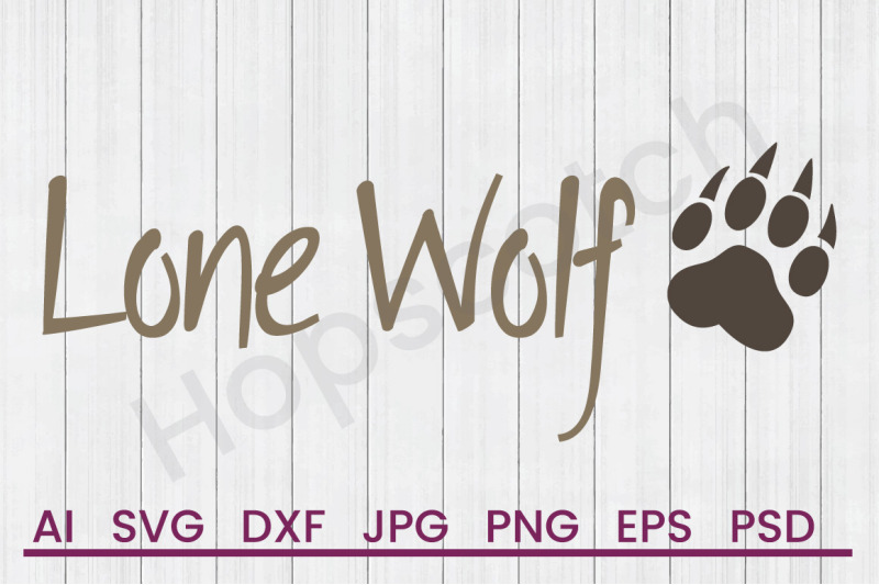 lone-wolf-svg-file-dxf-file