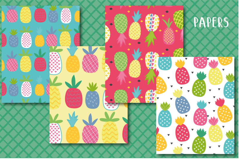funky-pineapple-paper