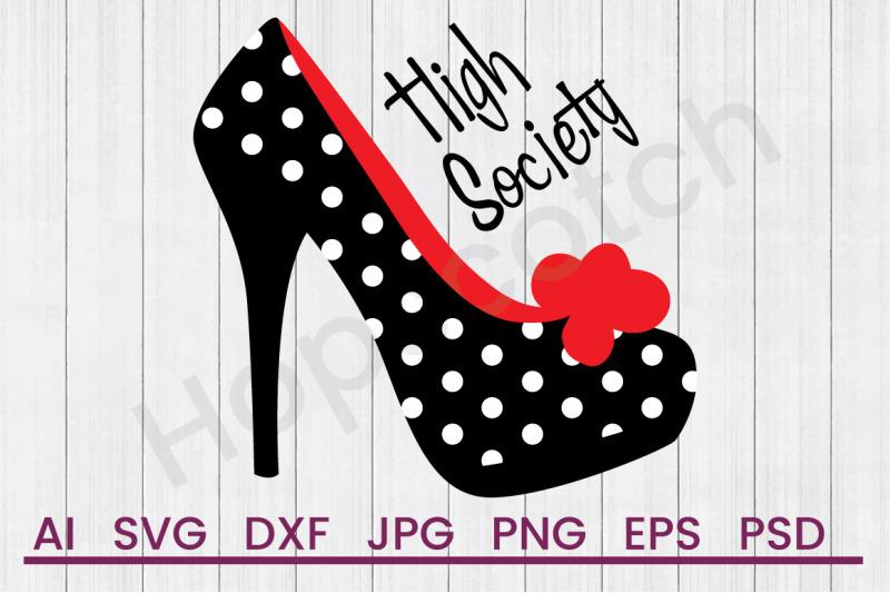 high-society-svg-file-dxf-file