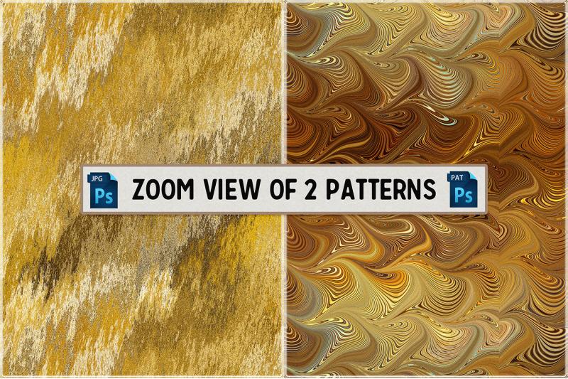 golden-seamless-tiling-patterns