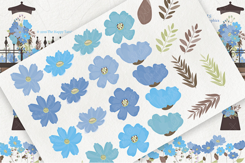 cosmos-02-blue-flower-clipart-amp-vector