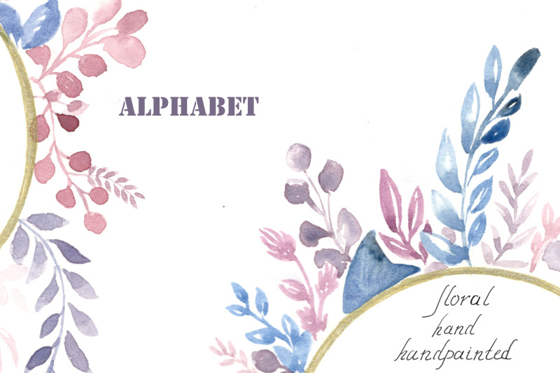 alphabet-flower