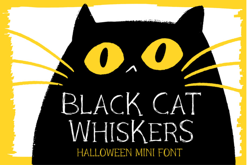 black-cat-whiskers-mini-serif-font