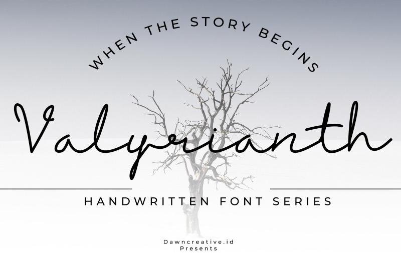 valyrianth-script-font