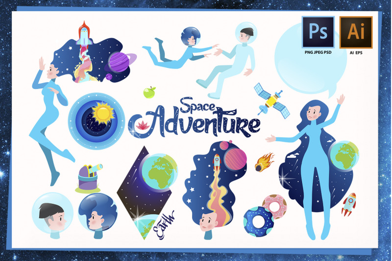 space-adventure-set