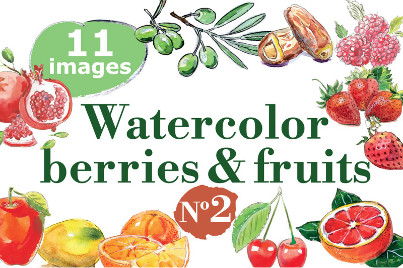 watercolor-berries-and-fruits-2