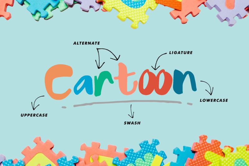 cartoon-fancy-font