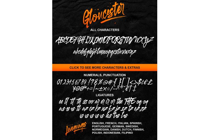 gloucester-typeface