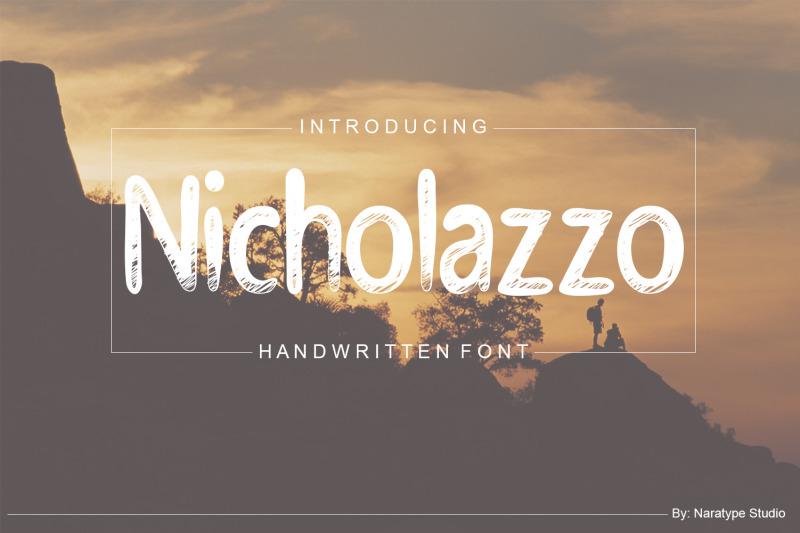 nicholazzo-handwritten-font
