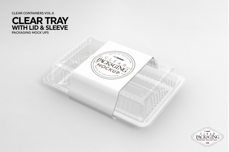 Vol 8 Clear Packaging Mockups By Inc Design Studio Thehungryjpeg Com