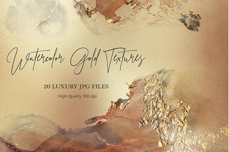 watercolor-gold-textures
