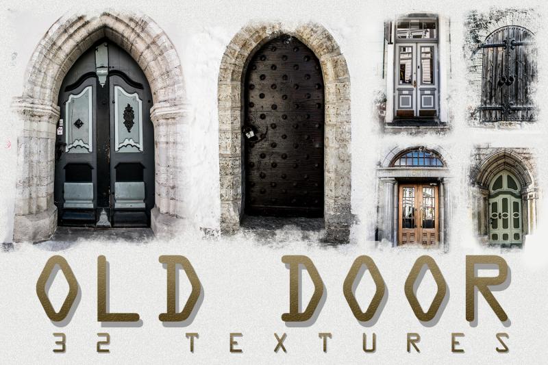 32-old-and-urban-door-photo-textures