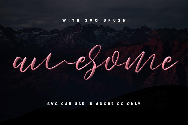 love-brush-svg-font-free-sans