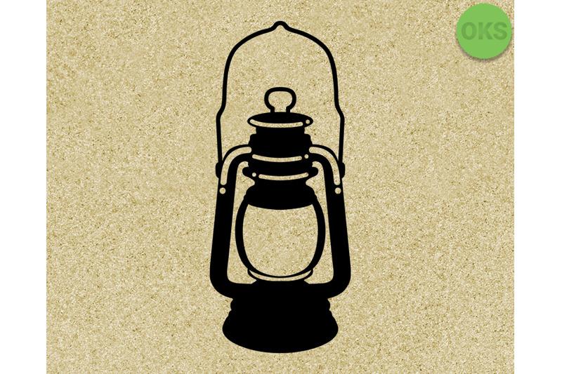 old-lantern-vintage-vector-svg-dxf-eps