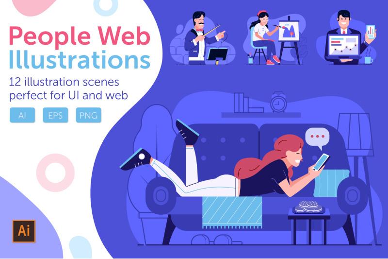web-marketing-people-illustrations