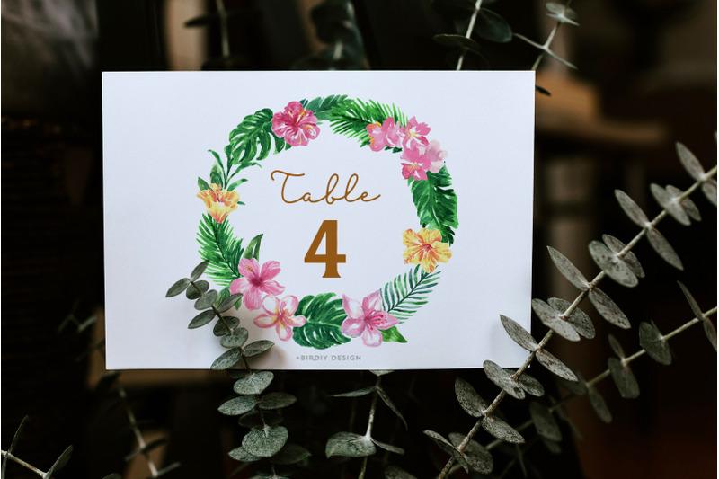 sale-tropical-watercolor-florals-set