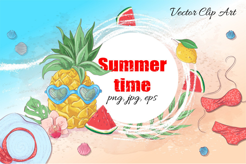 summer-time-vector-clip-art