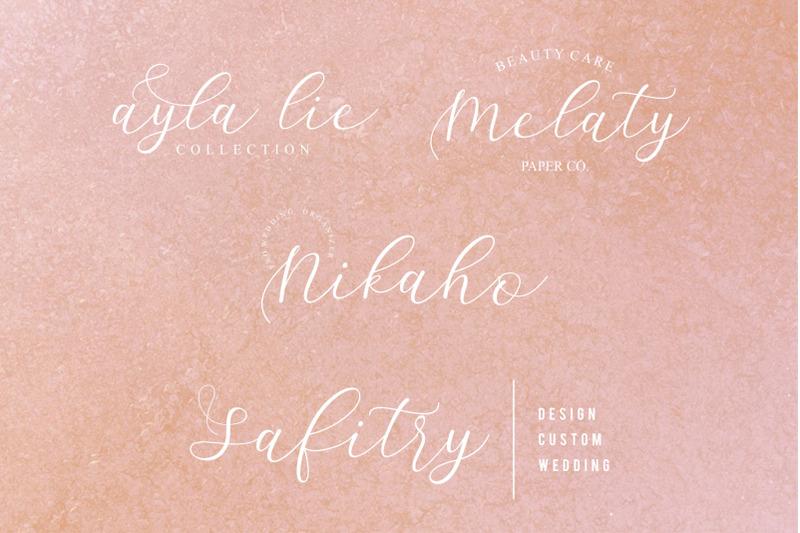 sathyn-script-font