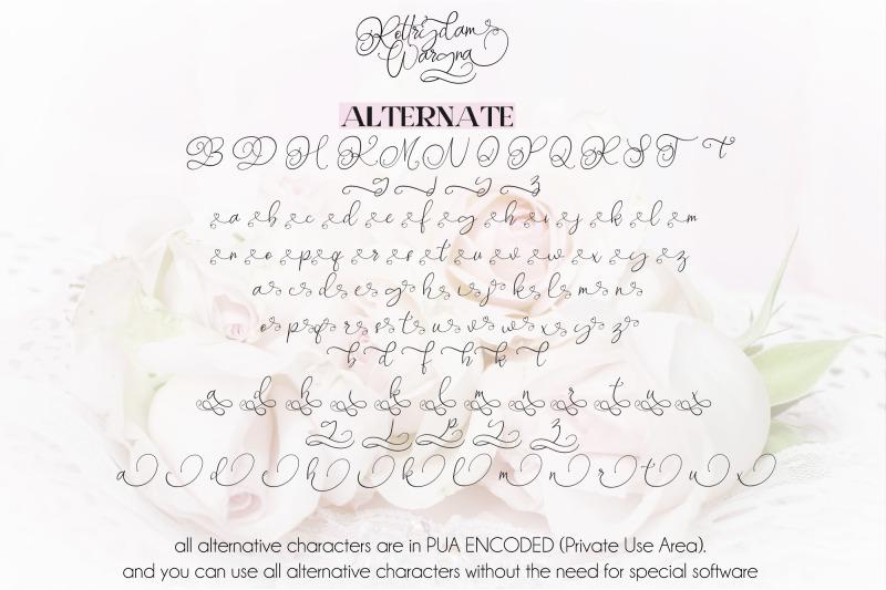 rottrydam-wargna-cursive-script