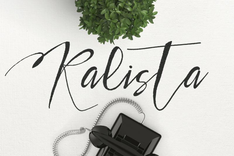 kalista-typeface