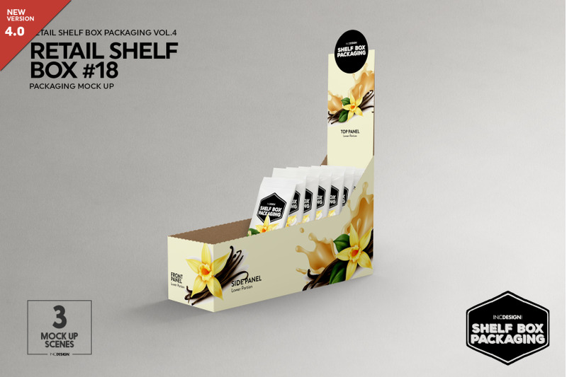 Free Retail Shelf Box 18 Packaging Mockup (PSD Mockups)