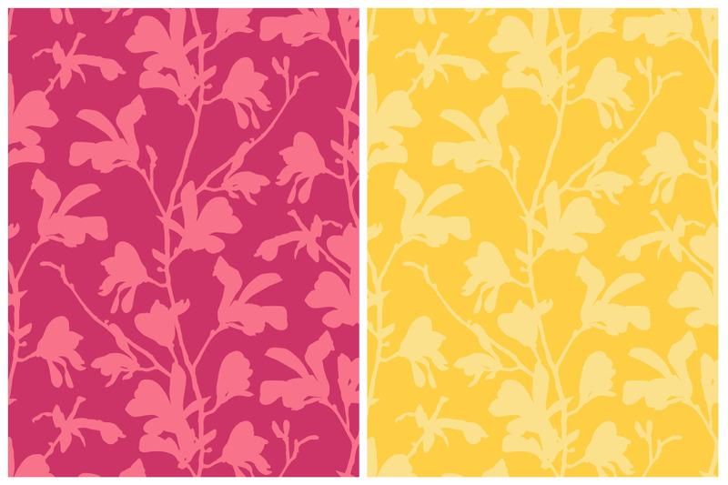magnolia-flowers-blooming-set
