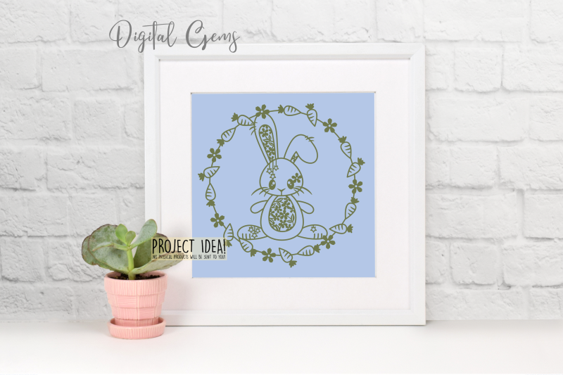 rabbit-paper-cut-design-svg-dxf-png-eps-files
