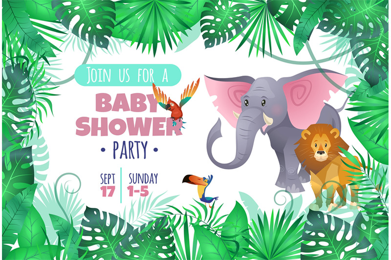 tropical-baby-shower-elephant-lion-in-jungle-african-young-adorable