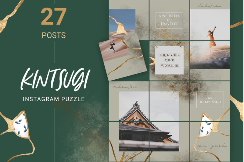 luxury-instagram-puzzle-template