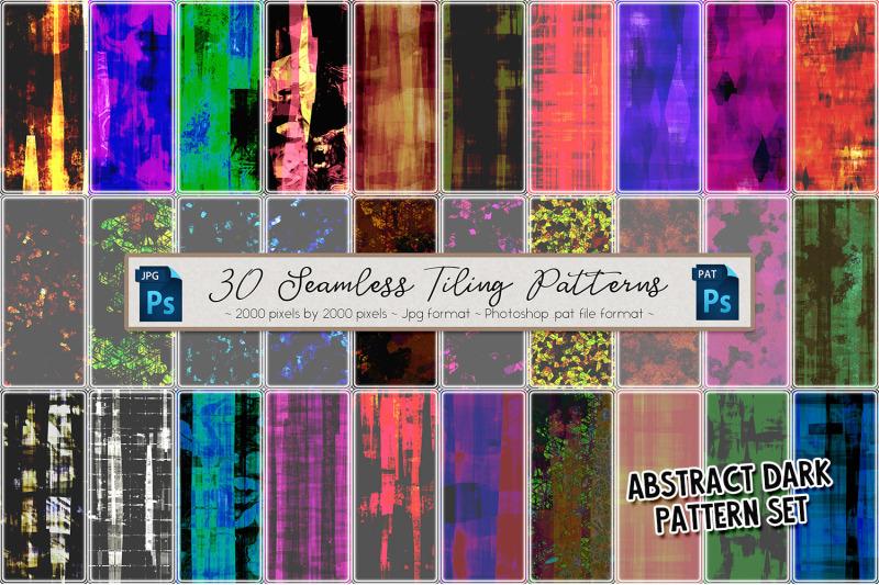 abstract-dark-patterns-set