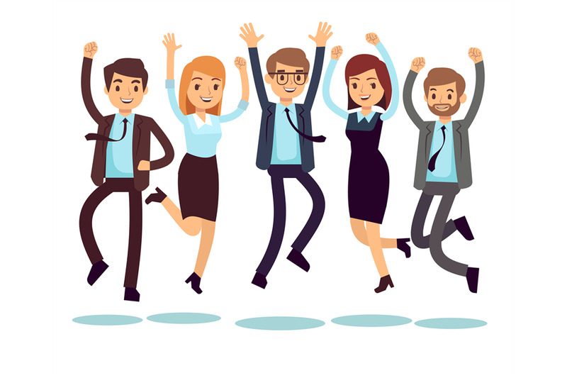happy-and-smiling-workers-business-people-jumping-flat-vector-charact